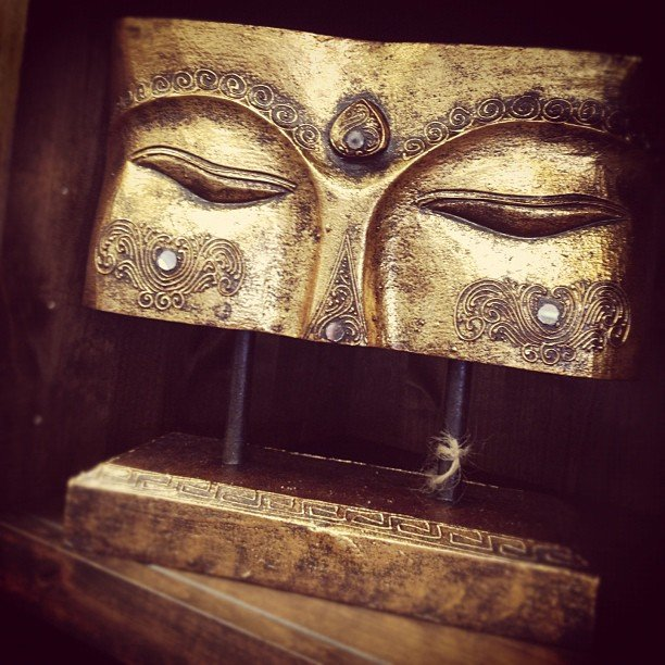 Eyes of Buddha. Serenity.