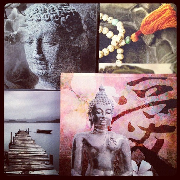 Canvas back in stock! Time to #redecorate #encinitas #buddha #mala #soulscape