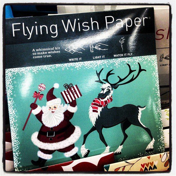 Back in stock! #flyingwishpaper perfect for your #Thanksgiving table! Write your wish ~ prayer ~ gratitude and send it out to the universe! Tons of different styles, come in and ask for a demo!