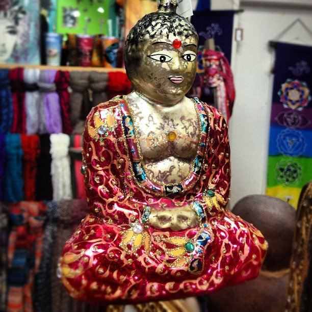 #buddha beauty! #ornament #ornamentexchange #perfectgift #encinitas #soulscapelife #shoplocal #smallbusiness
