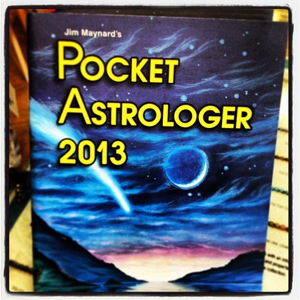 Finally! #jimmaynard astrological calendars are here! Come and get yours! Or call us to hold one before they run out-  760.753.2345 #astrological #calendar #pocketastologer #celestialinfluences #astrologersdatebook #celestialguide
