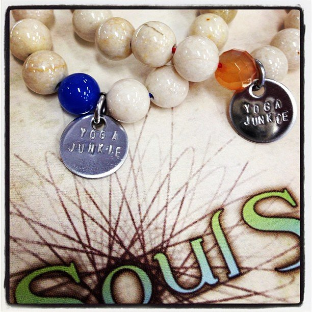Are you a yoga junkie? #ravishingjewelry #riverstone #encinitas #soulscapelife @ravishing_jewelry