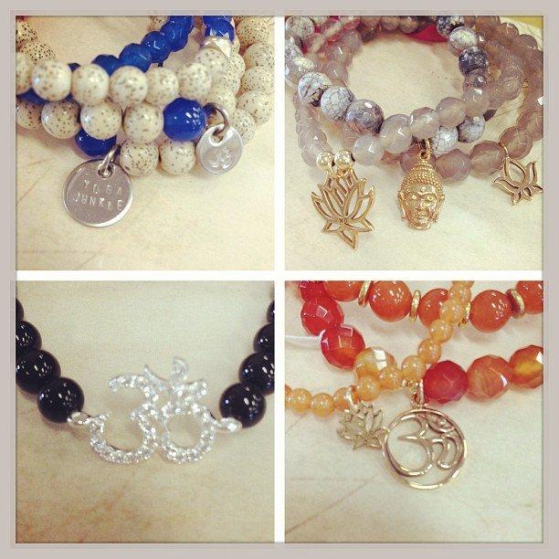 Ravishing bracelets are in! I'm in love with these amazing stacks! @ravishing_jewelry #ravishingjewelry #encinitas #soulscapelife #om #ganesha #buddha #riverstone #yogajunkie #bracelet thank you Danielle for my gift! I'm rocking it!