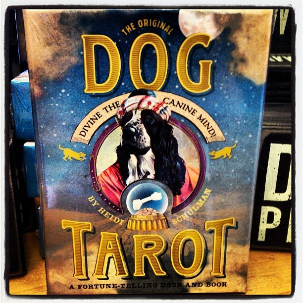 For all of us dog lovers out there! Super cute tarot deck!