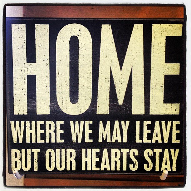 Home is where your heart is!  #encinitas #soulscapelife #home #heart #yoga #om #boxsign #redecorate #beach #instalove