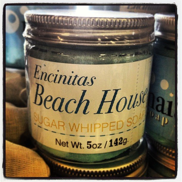 Just in! Encinitas Beach House soap scrub! Smells divine! Perfect for the guest bath  #encinitas #beach #soulscapelife #naiad #soap #picoftheday #healing #yoga #scrub #clean