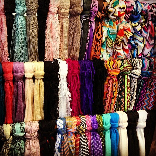 Spring scarves have arrived! Perfect for these chilly mornings
