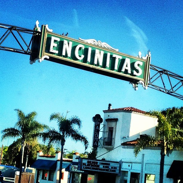 I driving under this sign in the early morning, streets empty, salty ocean breeze.... One word - home.