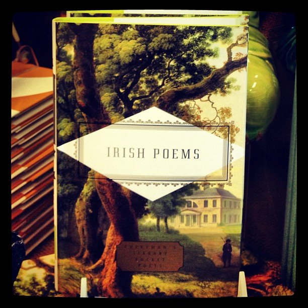 Need a poem to recite with your corned beef and cabbage? Or maybe your green beer....