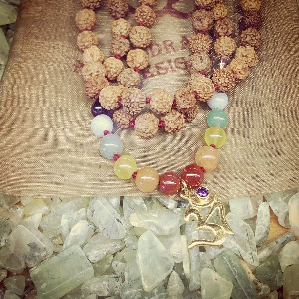 Beautiful Mala's are gracing our jewelry case....