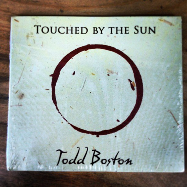 Playing in the store now, Touched by the Sun, by local artist Todd Boston, in honor of this sunny day!