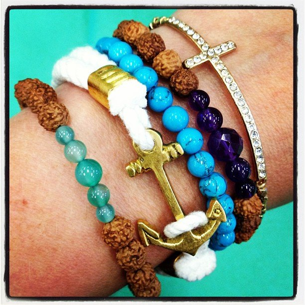 New arm candy! Stack it up!