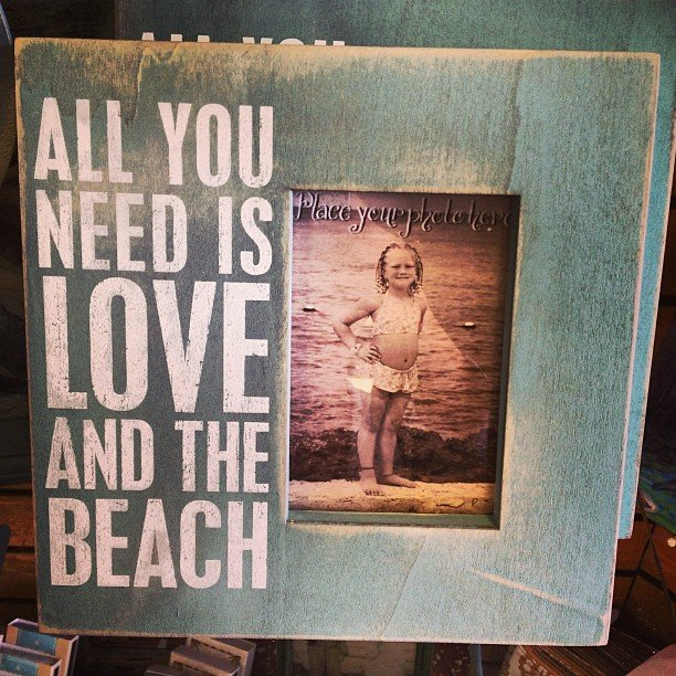 All you need is love... And the beach! Happy spring break!