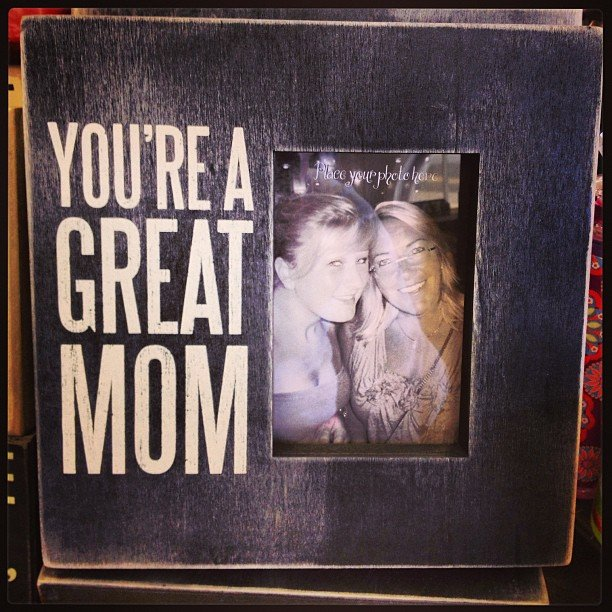 Can you think of a better gift than a great memory? Frame a special moment for your mom and let her think about it every time she sees the photo!