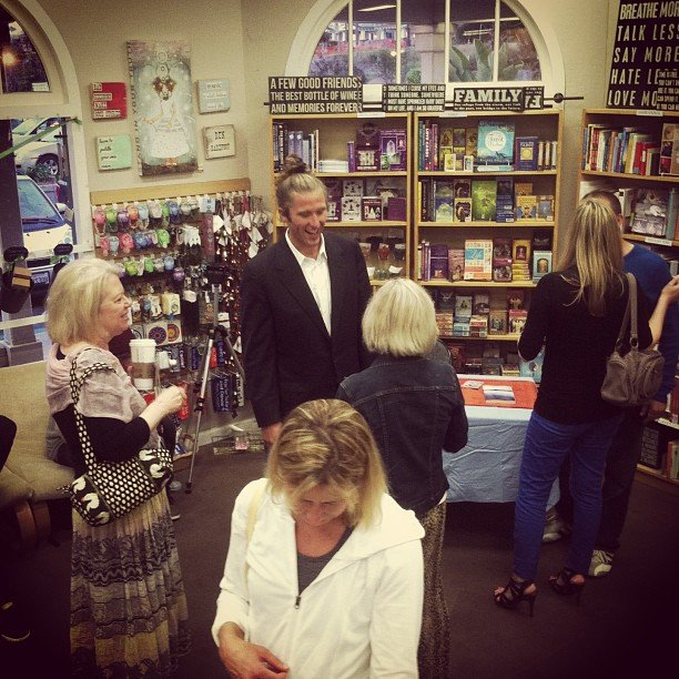 Jake Ducey book signing @ soulscape