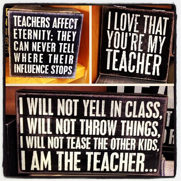 Teacher Appreciation day is May 7th  here's to the wonderful people who teach our kids, I am grateful for you every day!