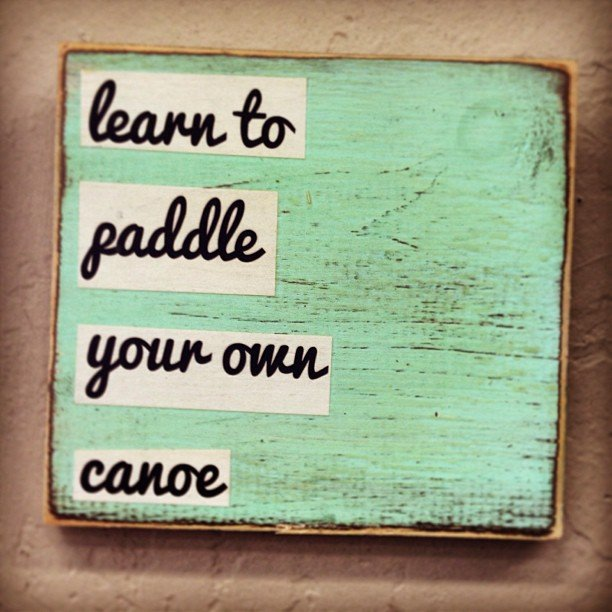 This one is in honor of my mom and all her little bits of wisdom.... Maybe the best advice she ever gave me!