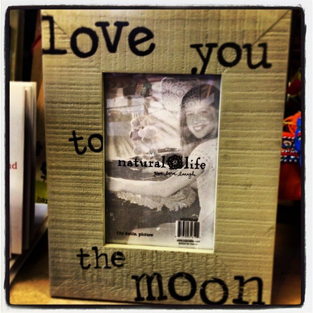Love you to the moon and back! Perfect for the grads and dads!