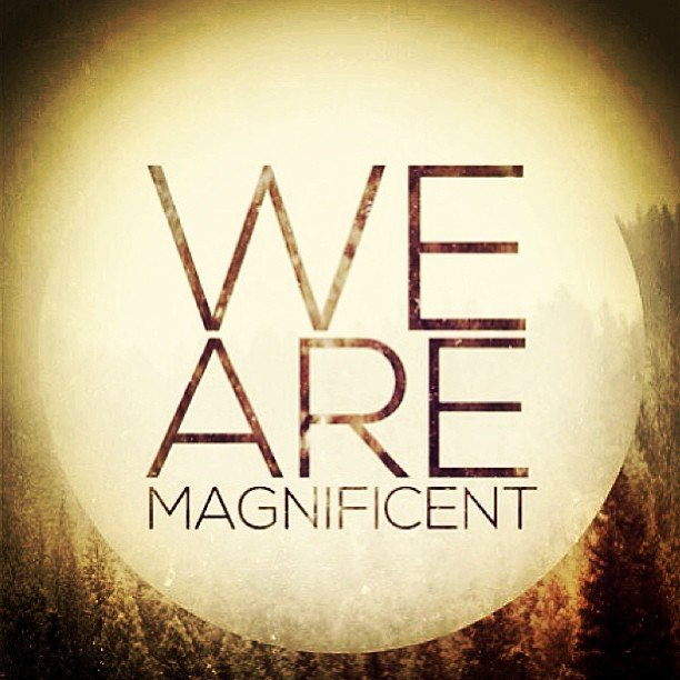 I  this. Not much else to say. #wearemagnificent #regram from @loveinfinitelyproject