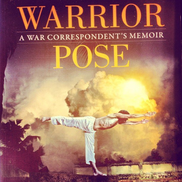 """Book signing this Thursday! Amazing author Bhava Ram with his memoir """"Warrior Pose"""" about how yoga literally saved his life. Join us at 7pm!"""