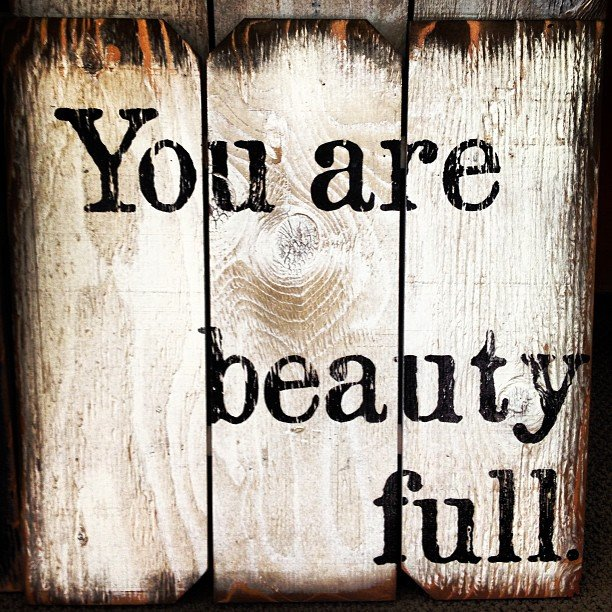 You are beauty full. #madeintheUSA