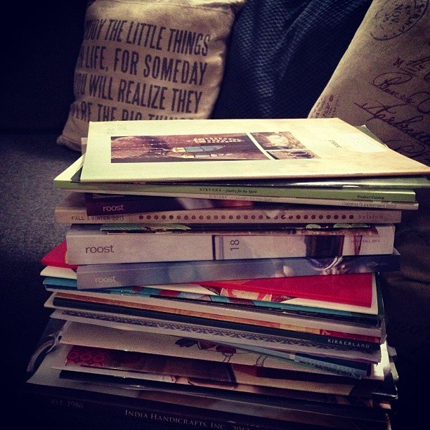 Tonight's shopping To-Do stack... Just some last minute additions for Fall + #Winter2013. Can't wait!