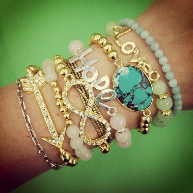 I did say we are a little obsessed! Happy Monday #armcandy!