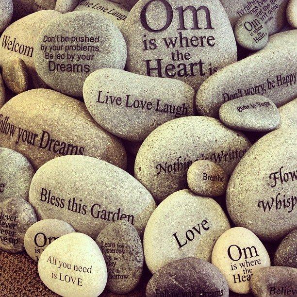 Nothing is written in #stone.