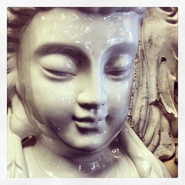 Oh Quan Yin, I love seeing your face everyday!