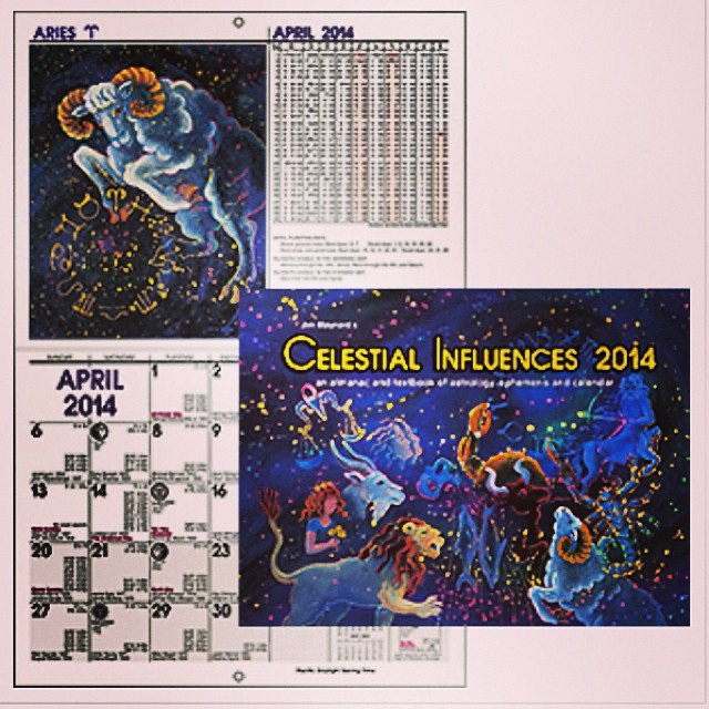 For all of you that have already reserved your copies, you should be getting a call right about now! If not, come and get them! #jimmaynard #astrological #calendars are here early this year!