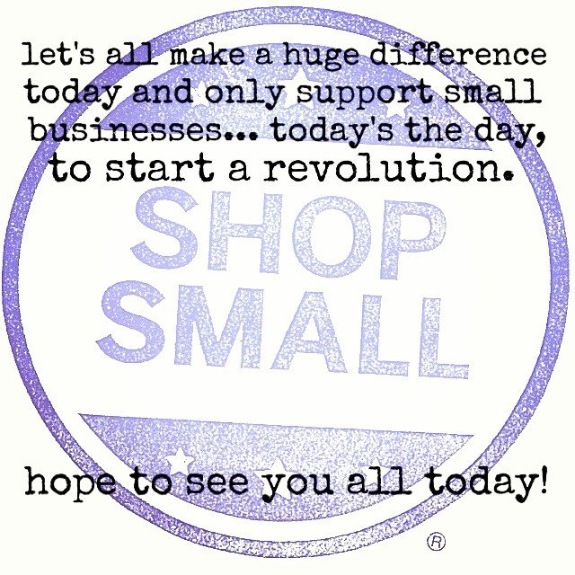 Shop small, shop local! We are celebrating all weekend with our sale! Hit up all the amazing locally owned shops and show your love, it's beautiful outside!