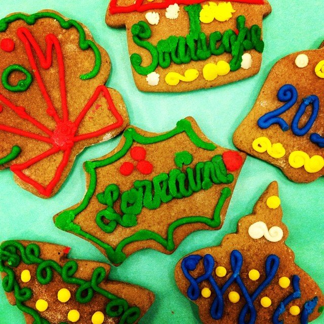 Thank you Lori, my awesome rep, for our #gingerbread cookies! We look forward to them every year!