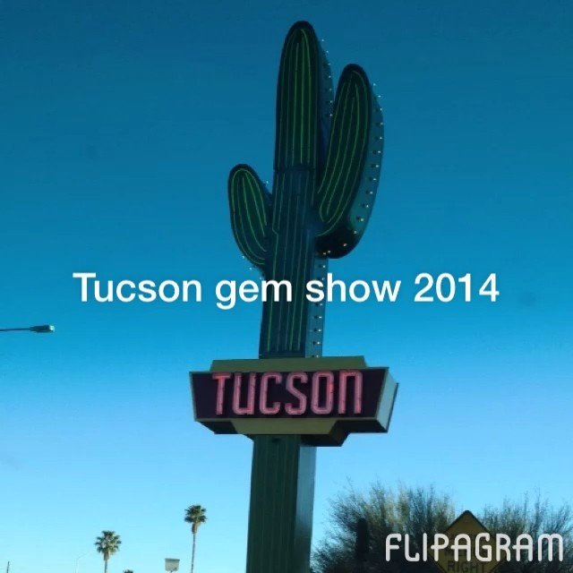 Just a few pics from our trip to the Tucson gem show!