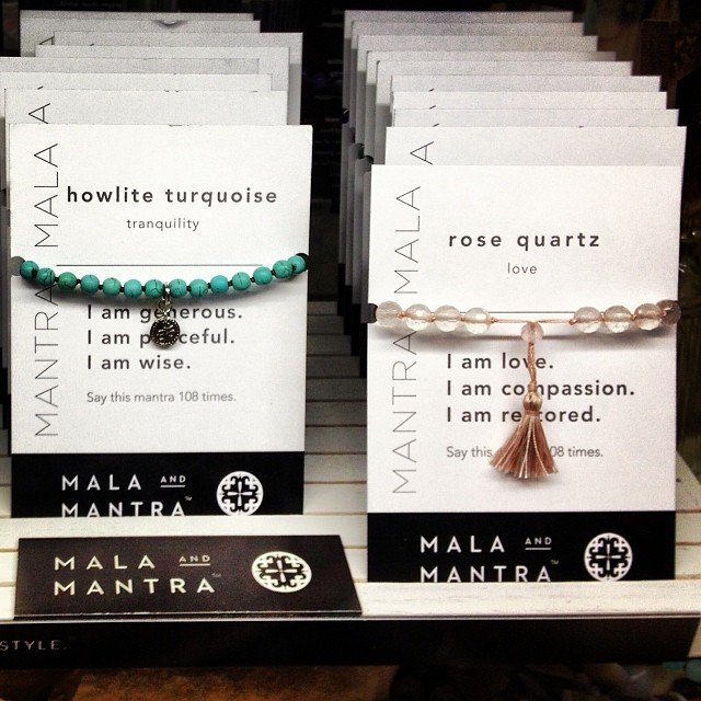 So excited to carry Mala & Mantra! The most amazing quality gemstone malas I have ever seen!