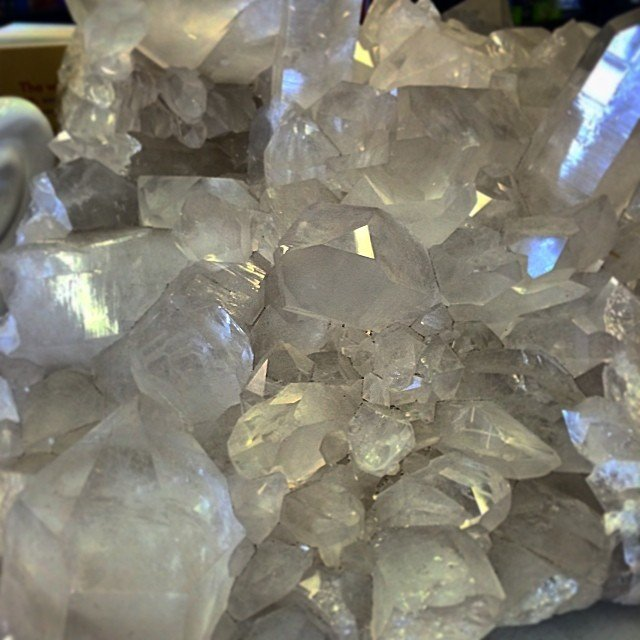 lost in the thoughts of the possibilities... #quartz makes me #dream of the future.