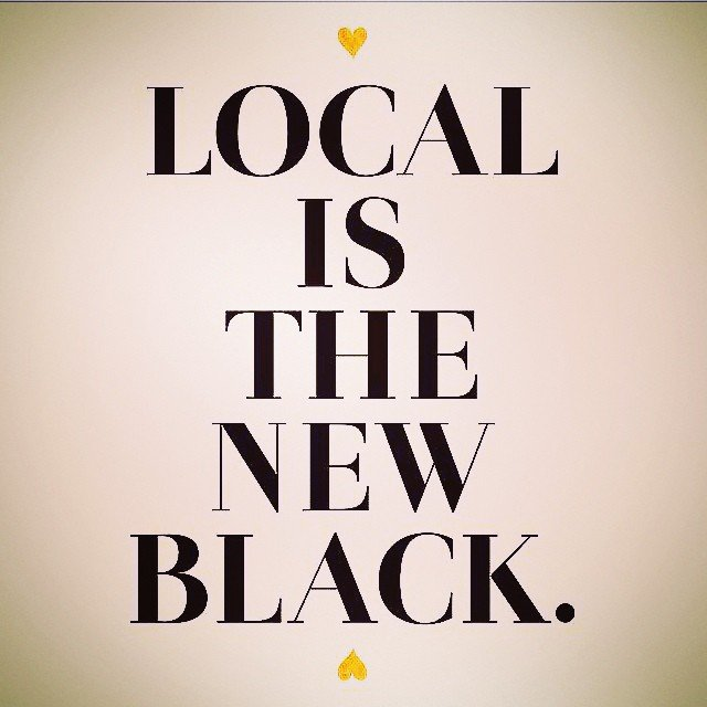 Keep it local! if 1/2 of the employed population spent $50/month in a local independent business, it would generate $42 BILLION in revenue.... 68% of every $100 returns to the local community through taxes, payroll and other various costs. Let's do this!