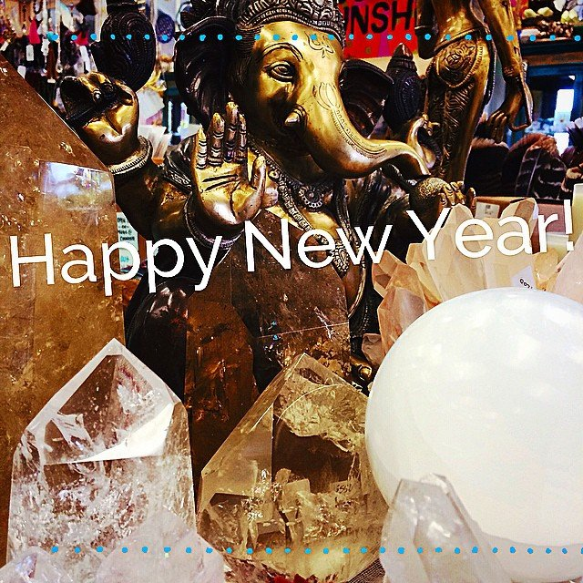 2015. May this year be the year that your dreams turn into your reality. Dream Wide Awake. #ganesha - the remover of obstacles. ️PS - we are closed today, each of us taking the day to set our intentions for the upcomg year. See you tomorrow! ️