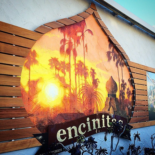 Check out the new mural on moonlight beach 7-11! So proud to support this @paintencinitas project, along with 7-Eleven, @detoursalon @dstreetbarandgrill, Encinitas Acupuncture, and many others. #publicart is popping up everywhere!