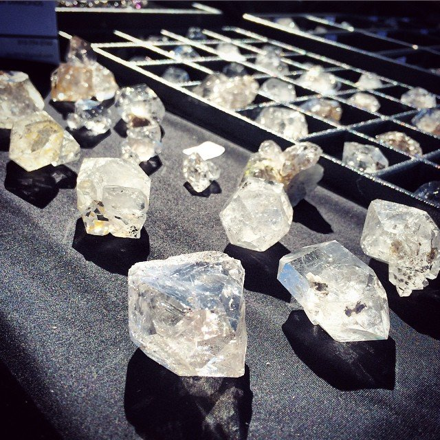 How many times a minute can you fall in love? #herkimerdiamonds
