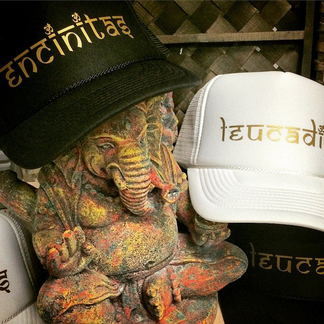 We're so fancy... You don't even know... Ha! Not really fancy over here, but it sounded good.  We are loving our new #gold #encinitas + #luecadia hats.