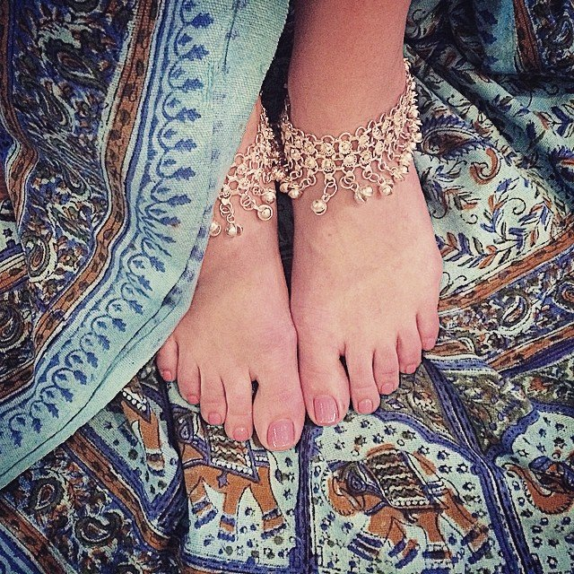 Gypsy dreams and vagabond wishes.... We've got tons of festival gear for #Coachella like our new bell anklets and #mandala tapestries!