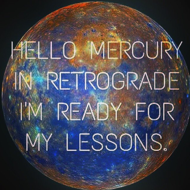 #Mercury retrograde. Ugh. I'm getting back in bed. Thank goddess for the rain.