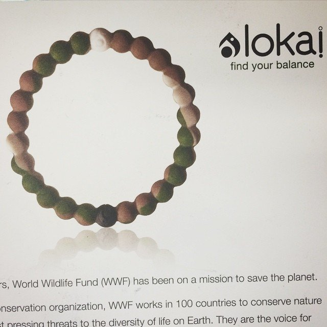 New Limited Edition Wild Lokai are here!  This one benefits the World Wildlife Fund, saving cuddly animals across the globe. We are also pledging $1 per bracelet sold to our local heros at Rancho Coastal Humane Society. They are going fast, come get yours before they are gone!