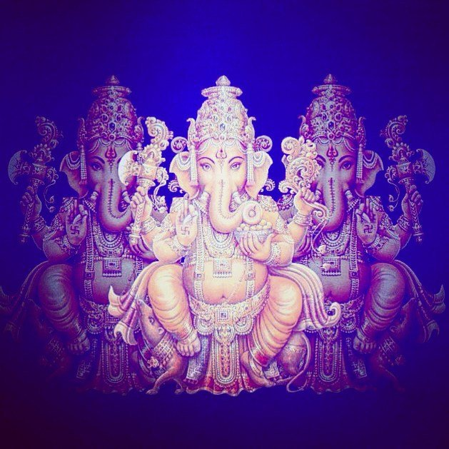 Ganesha. My teacher. I embrace the obstacles and value every mountain I need to climb to see the beauty from the top.