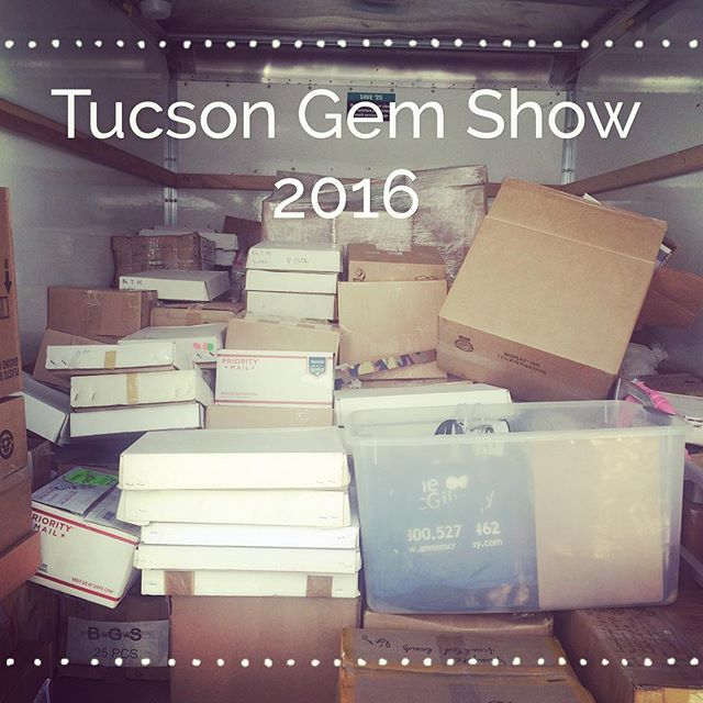 Life altering Tucson experience this year. We can't wait to start sharing our new collections March 1st. Until then we have our #crystalsale going on. 40% off right now, next Friday - 50% off!
