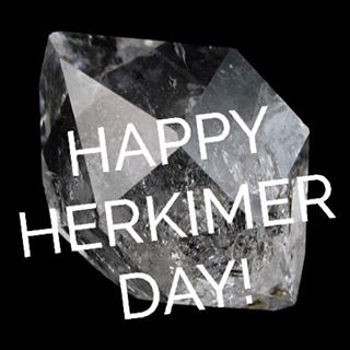 Happy Herkimer Day! We love these stones of #attunement so much we decided that every year on February 16th, you get a free #HERKIMER #diamond with your purchase!