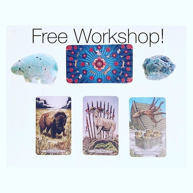 #Animal #totems are powerful allies and #guides. Soaring, swimming, crawling or silently stalking, all the animals have #spiritual #lessons and #insights to help you. With their #grace and #beauty animals posses wisdom beyond words. Come find out more with Leeza Robertson, creator of Animal Totem Tarot, Wednesday May 18, 2016 at 6pm.