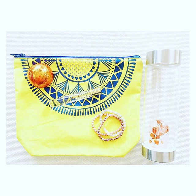 Slacked on the #mothersday #gift? we've got you covered! #wellness #waterbottles with #crystals , shower bursts, cosmetic bags, perfume and #powerbracelets all make easy, thoughtful gifts to celebrate #mom !