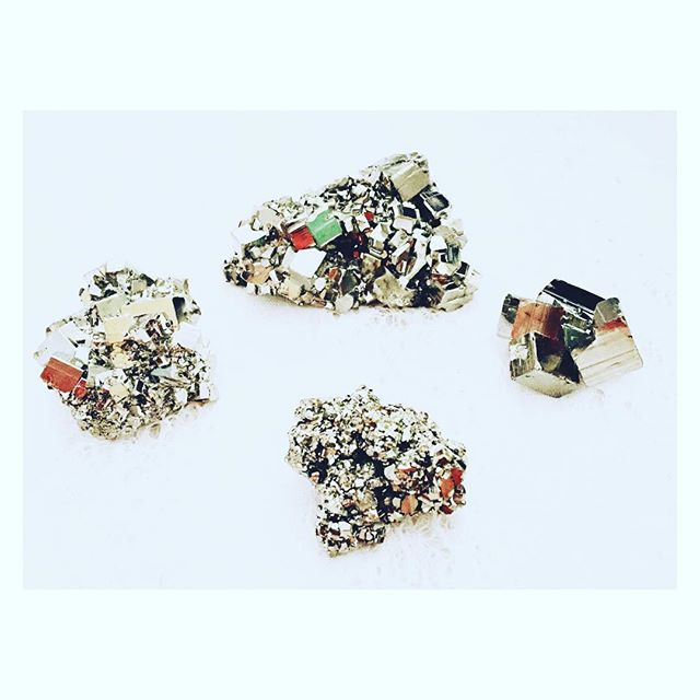 Spectacular #pyrite pieces are hitting our shelves! We have some beauties to share with you, including some extra #special #isisandosiris pyrite!