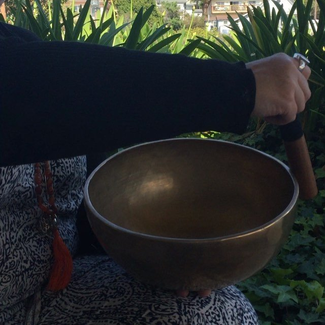 New #sevenmetals #singingbowls arrived today! We will have them out soon! Even through the sounds of the city the #vibration echoes through the #soul .